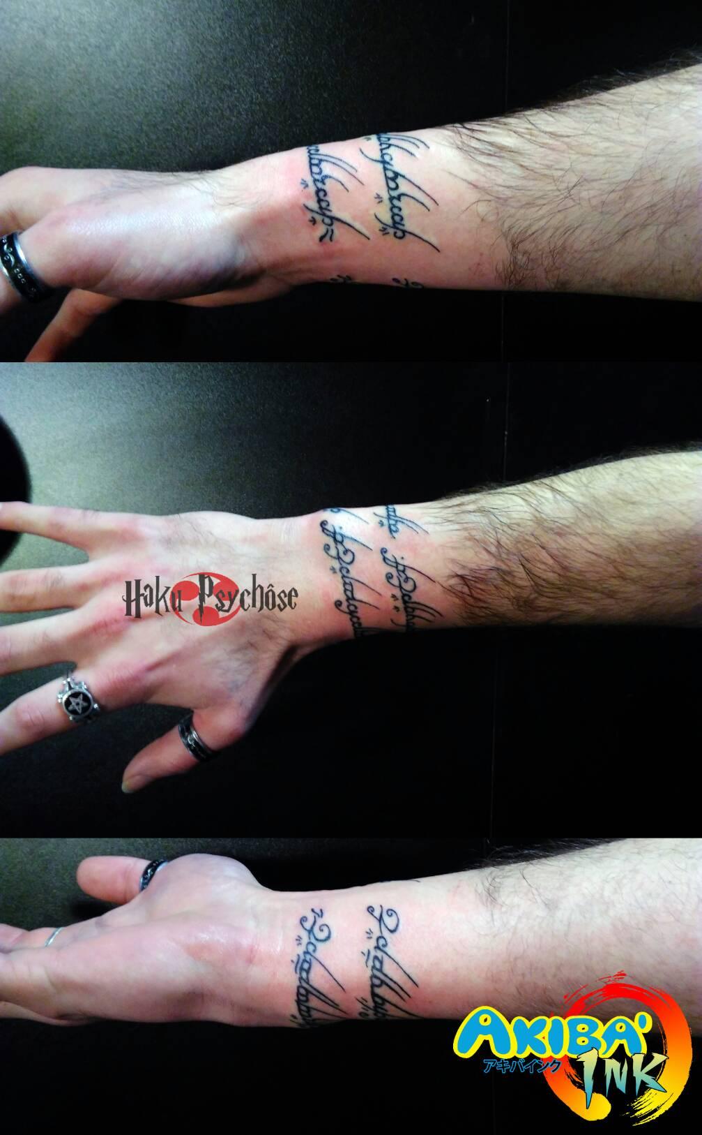 Akiba\u0027ink akibaink haku psychose hakupsychose tperforator perforator tattoo  piercing montpellier 34 france geek heroic